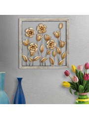 Metal Rose Wall Frame