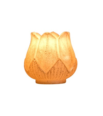 LOTUS IVORY SMALL CANDLE