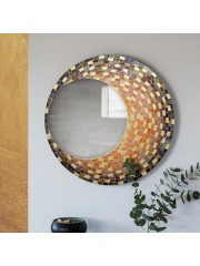 Chandra Mosaic Decorative Mirror
