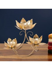 Multiple lotus T-lite Table Decor w/o Glass