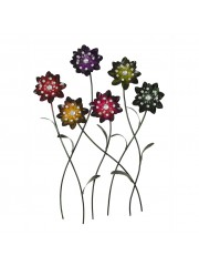 Art Metal 5 Multipal Flower Wall Decor
