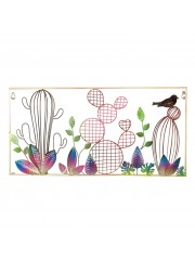 Bird Multi Art Metal Wall Decor