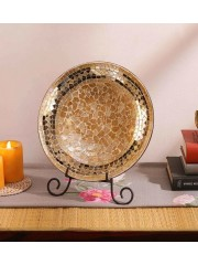 Antique Mosaic Plate Table Décor